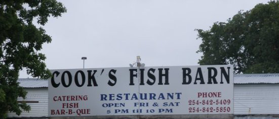 Cook's Fish Barn Restaurant & Catering